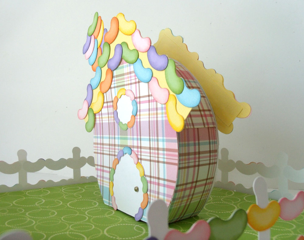 Jelly Bean House Easter Village