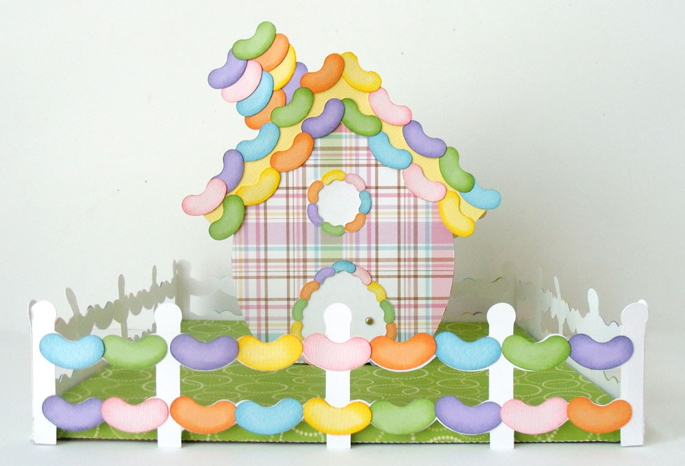 Easter Village Jelly Bean House