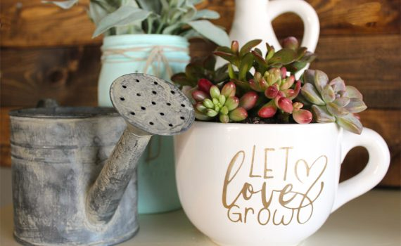 Let love grow planter