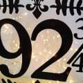 Pazzles DIY Home Decor Lighted House Number by Renee Smart