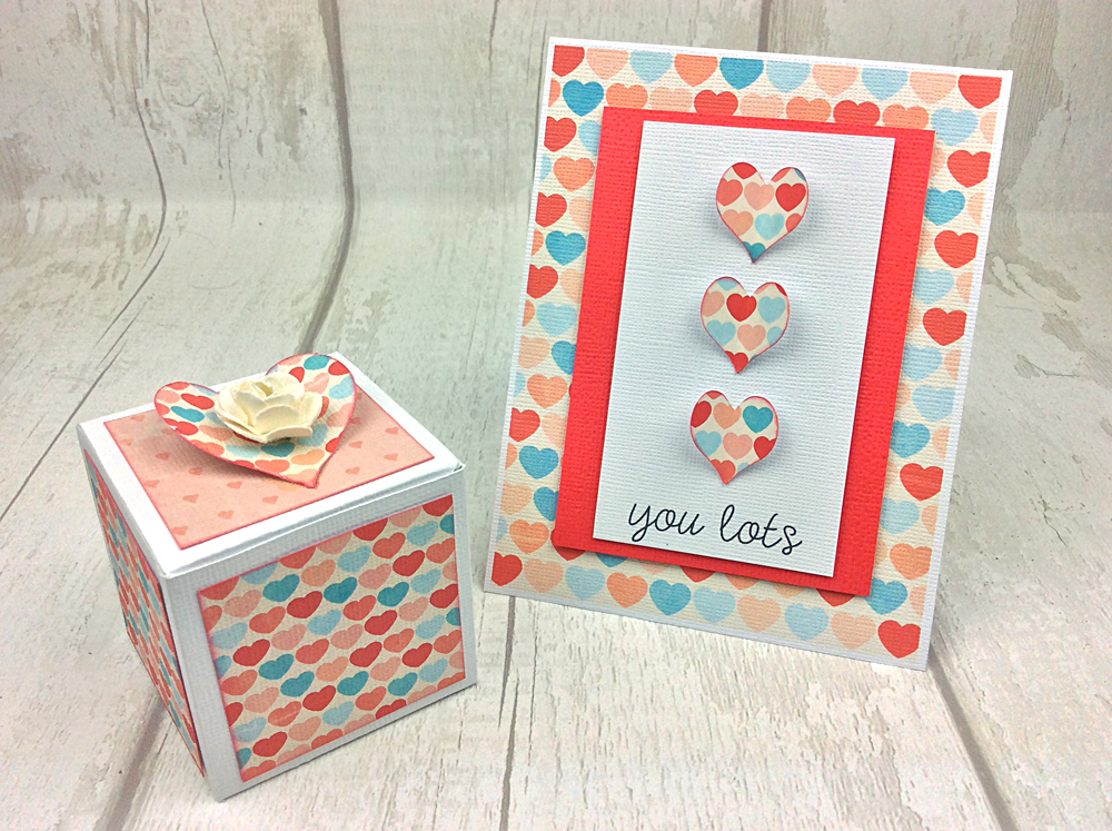 Love You Lots Card and Box