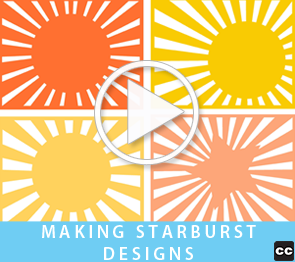 Making Starburst Designs