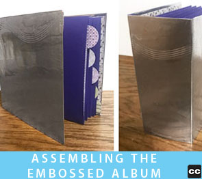Making the Embossed Album
