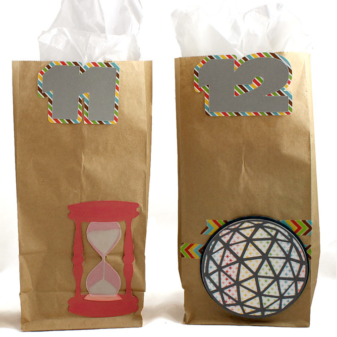 New Year's Midnight Countdown Bags