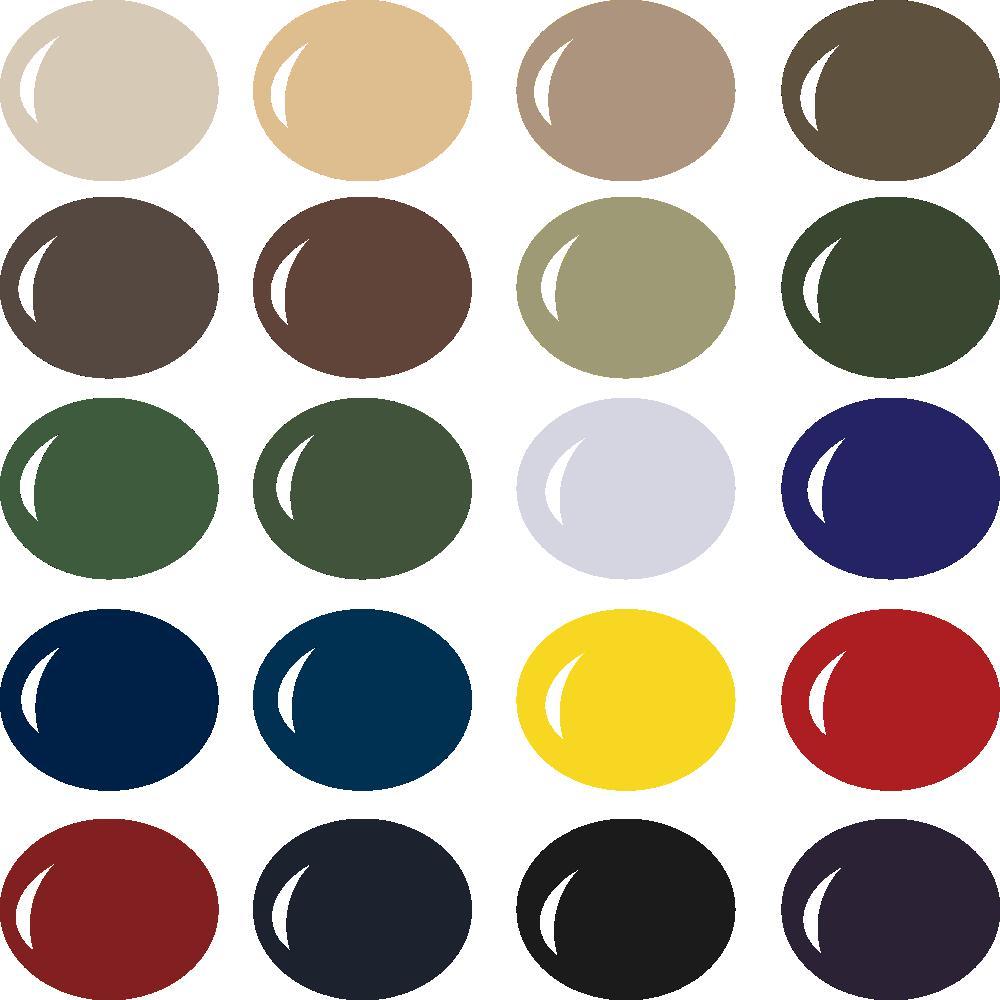 InVue Color Palette: Military