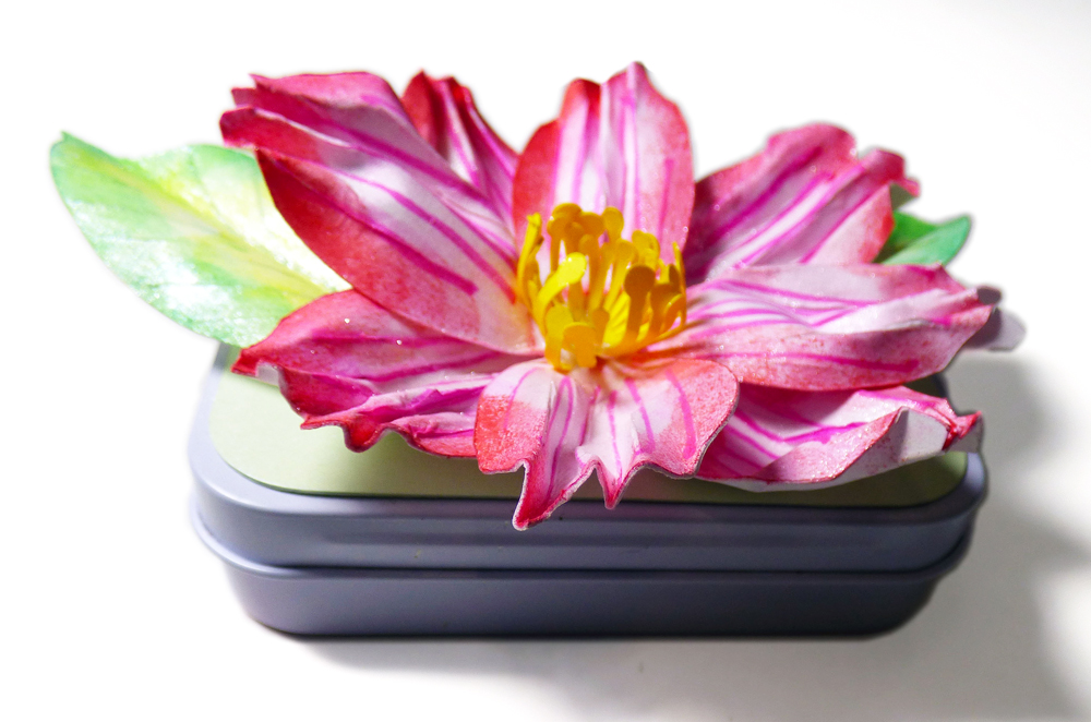 3D Flower Mini Tin