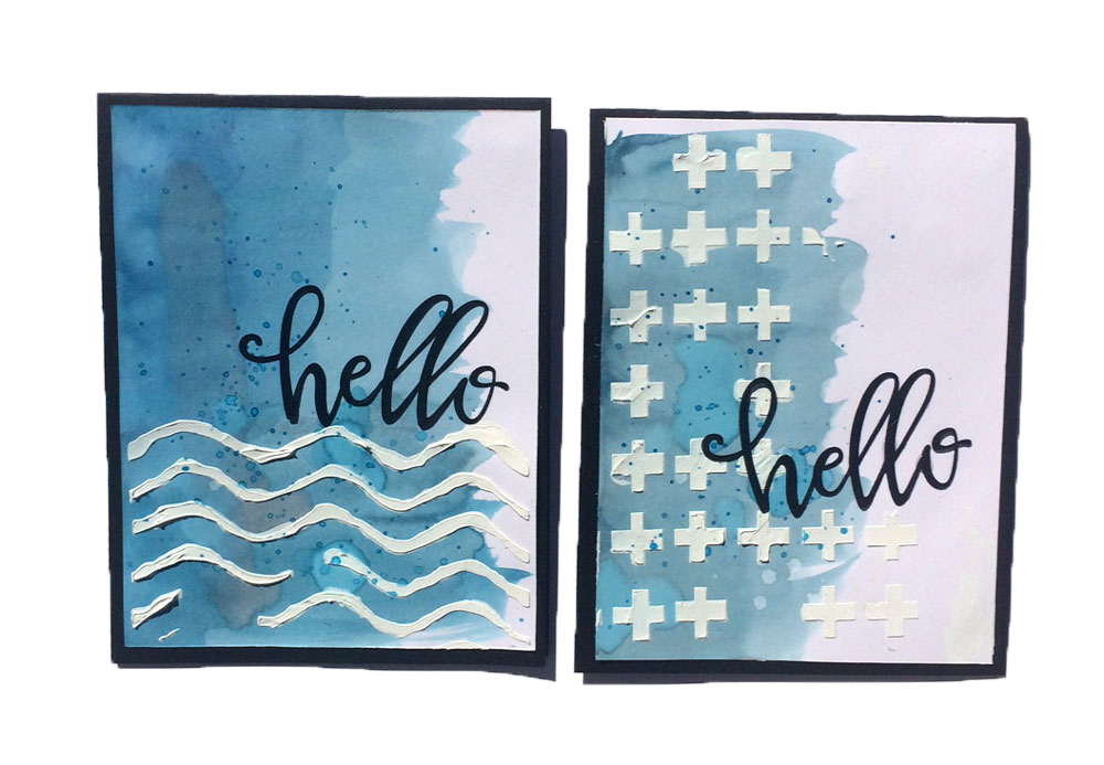 DIY Mixed Media Stencils