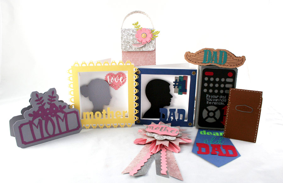 Pazzle Craft Room: Mom And Pop Cutting Collection: WPC, AI And SVG