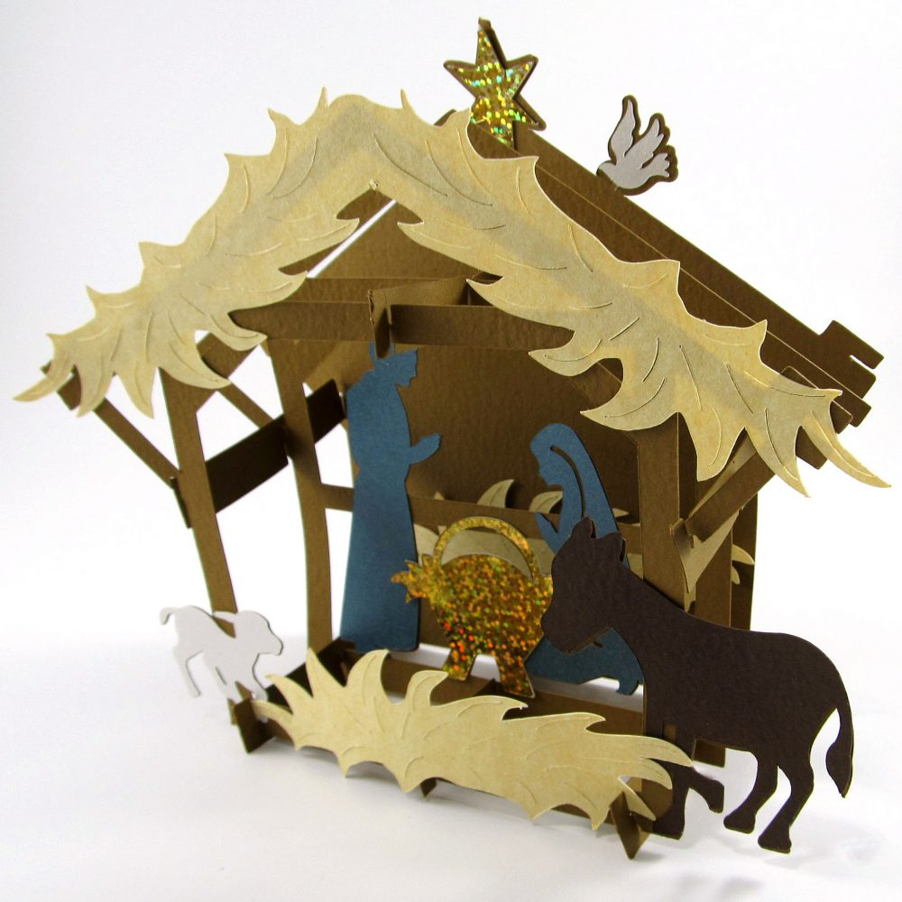 Nativity Sliceform