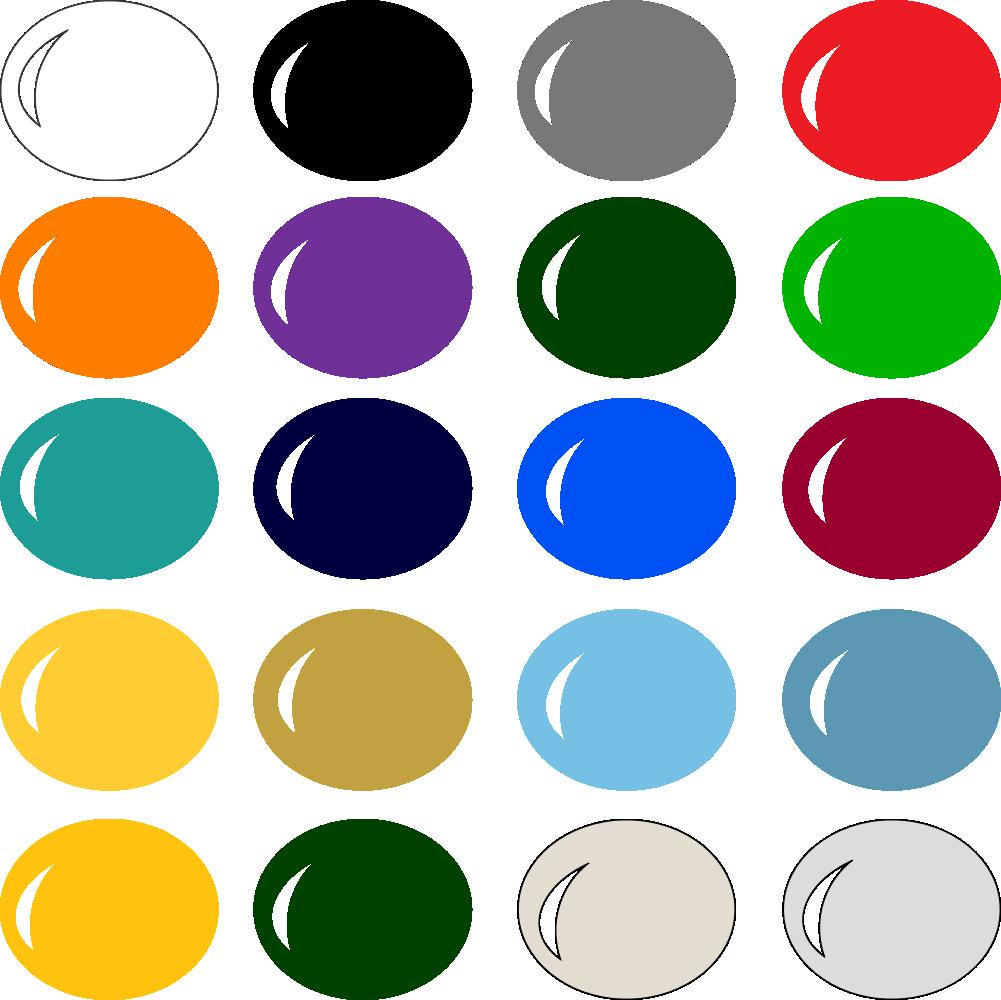 InVue Color Palette: NBA Colors