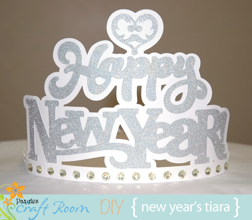 New Year\'s Party Tiara - Pazzles Craft Room