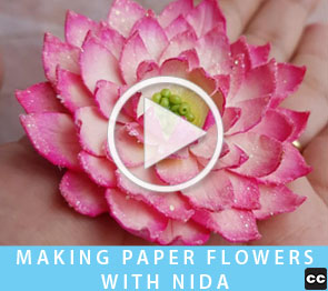 Nida's Flower Tutorial