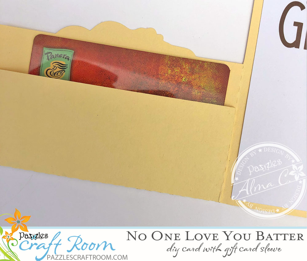 Pazzles DIY Baking No One Loves You Batter Card for Grandma on Grandparent's Day by Alma Cervantes