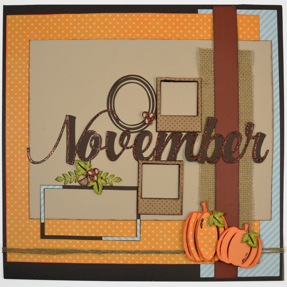 12 Memories of Christmas: November made with the Pazzles Inspiration Vue