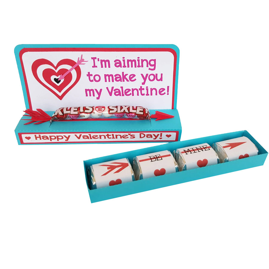 Nugget Slider Box Valentine