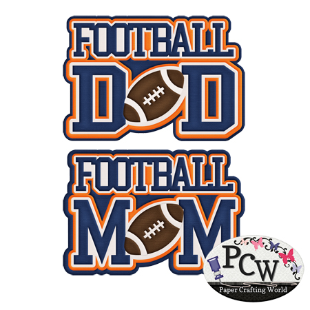 Football Mom and Dad
