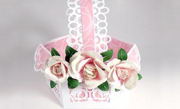 Peony Gift Basket