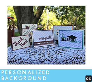 Personalized Printed Backgrounds