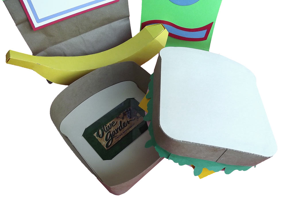 Paper picnic lunch set