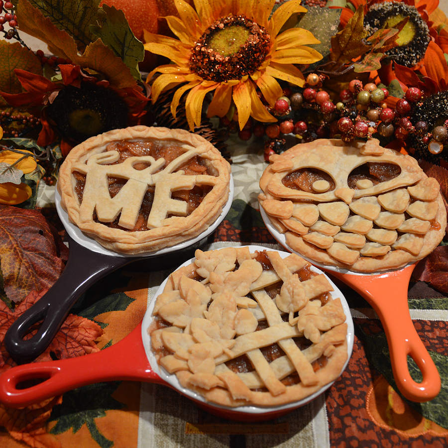 Custom Personal Pies made with the Pazzles Inspiration