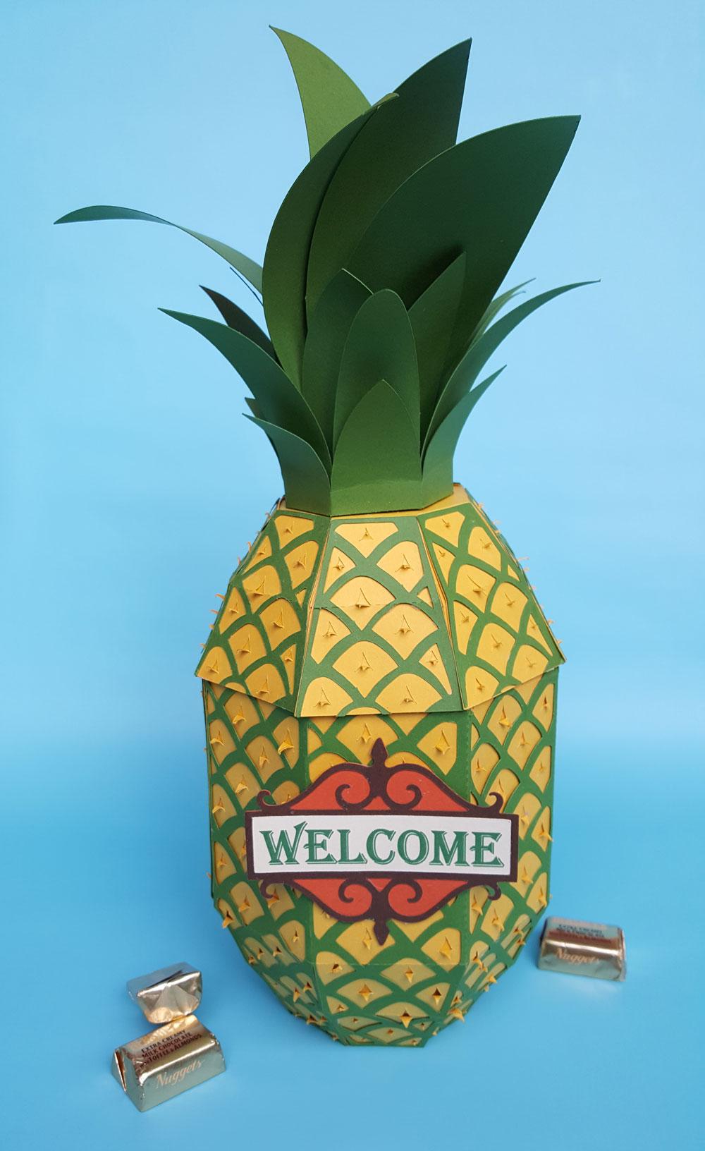 Pineapple Box cut files