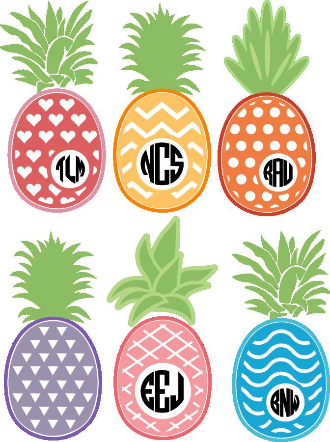 Pineapple Monograms