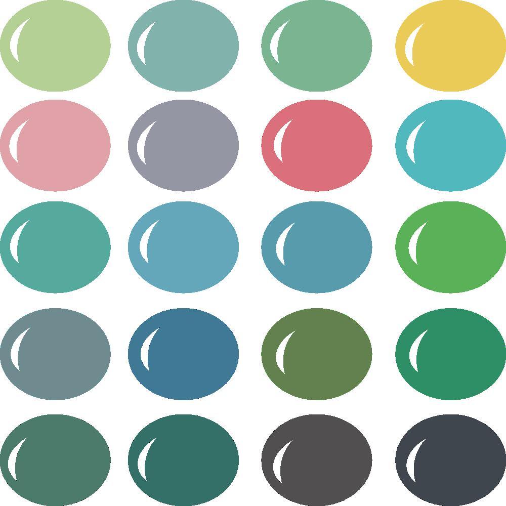 InVue Color Palette: Ponyo
