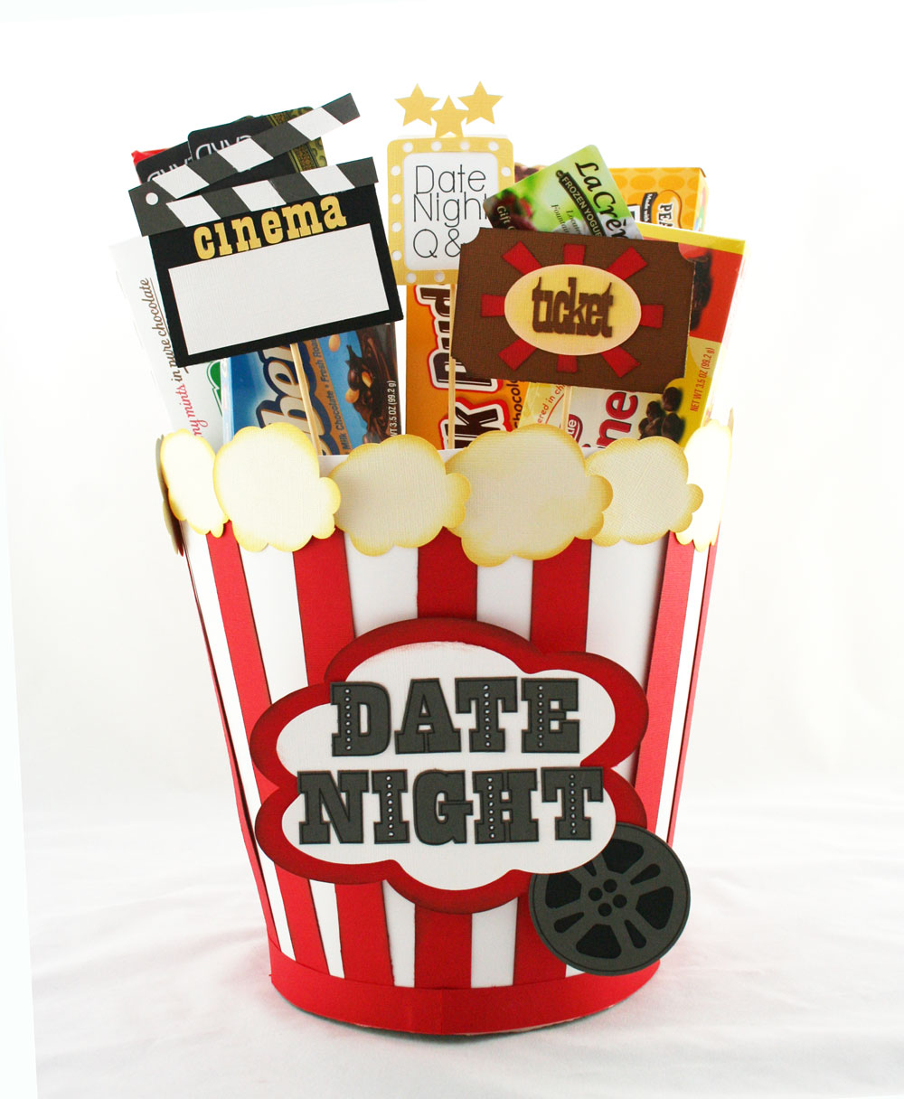 Popcorn Bucket Date Night Pattern