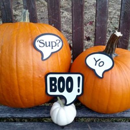 Conversation Pumpkins