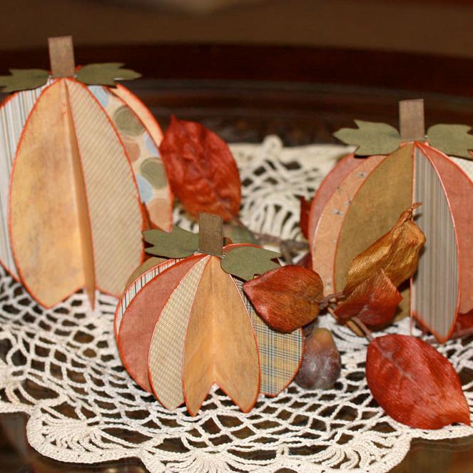 Pumpkin Centerpieces