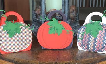 Pazzles DIY Pumpkin Purse by Sara Weber