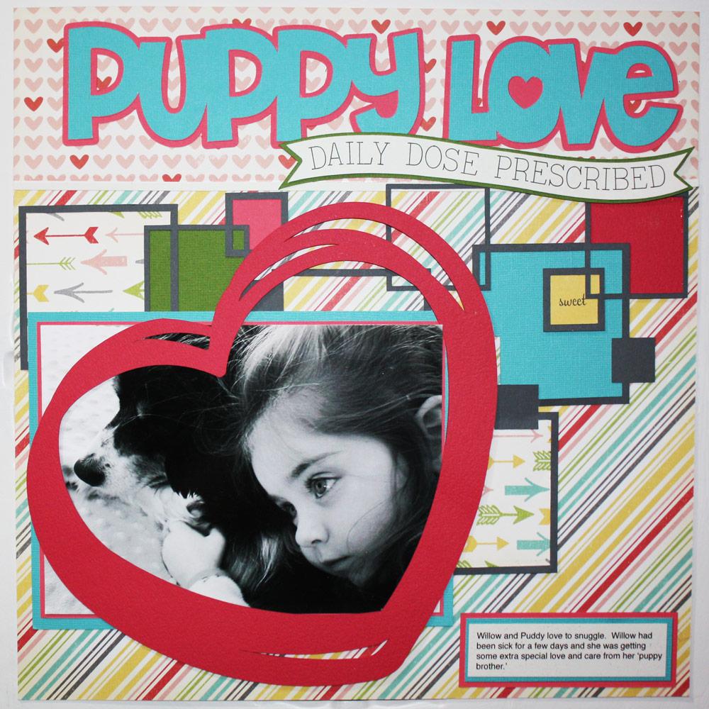 Puppy Love Layout