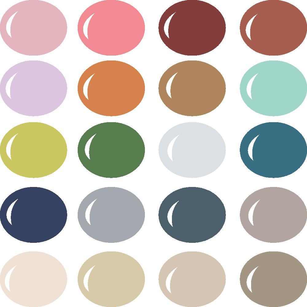 InVue Color Palette: Retro Vintage Home