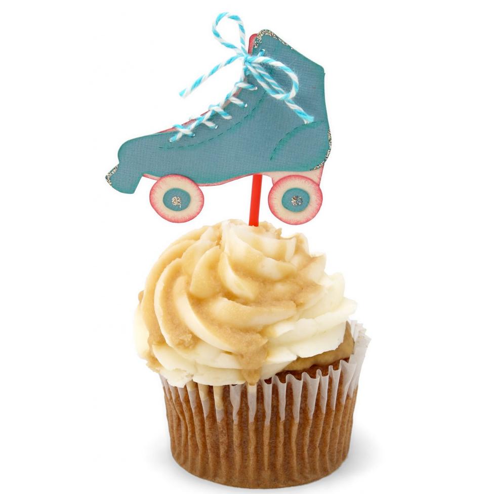 Roller Skate Cupcake Topper