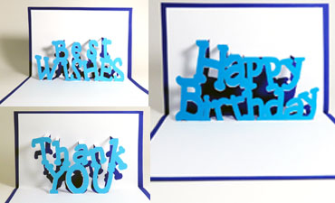Pazzles DIY Pop Up Sentiments Cards Collection. SVG download compatible with all major electronic cutters including Pazzles Inspiration, Cricut, and SIlhouette Cameo. Made by Julie Flanagan.