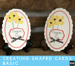 Creating a Shaped Card