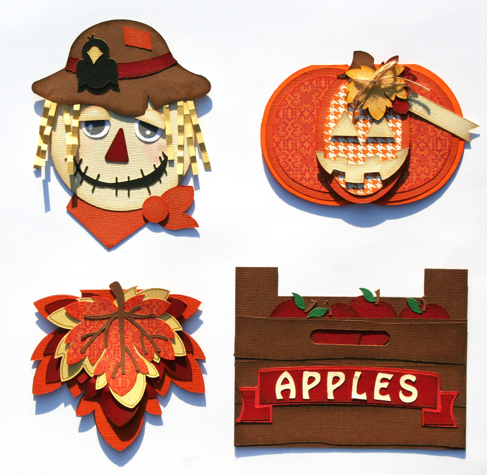 Fall Shaped Cards