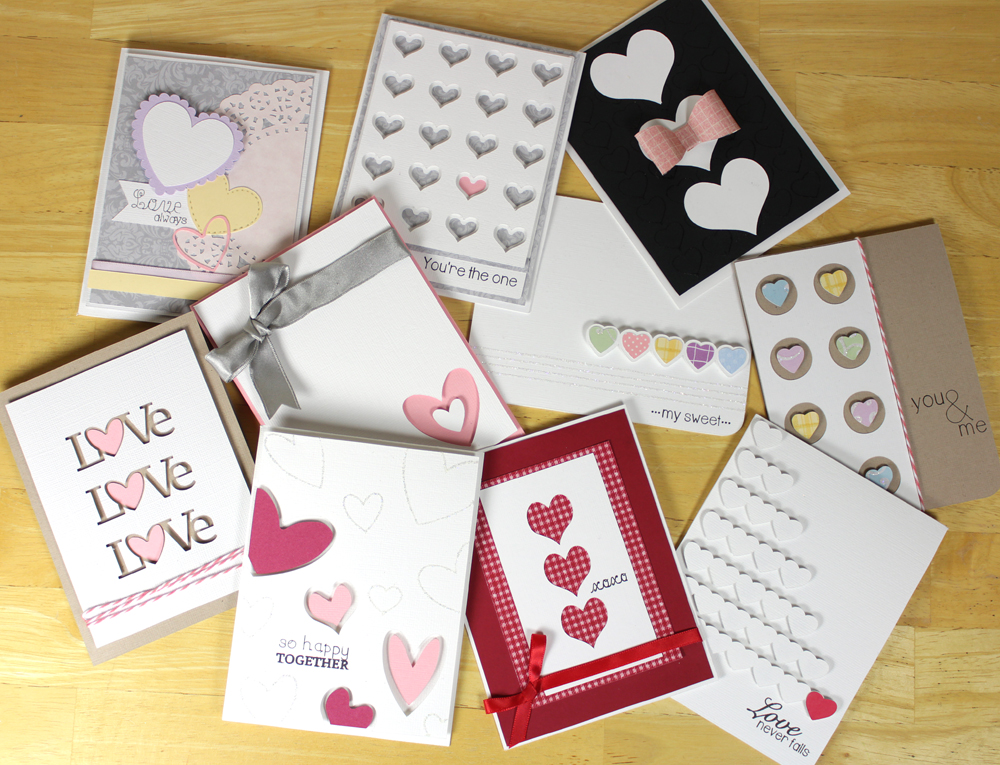 Simply Heart Cards Collection