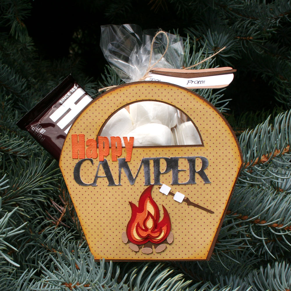 Camp Smores Treat Basket