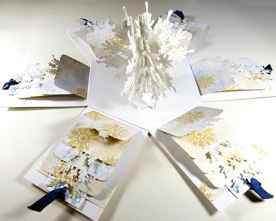 Snowflake Explosion Box