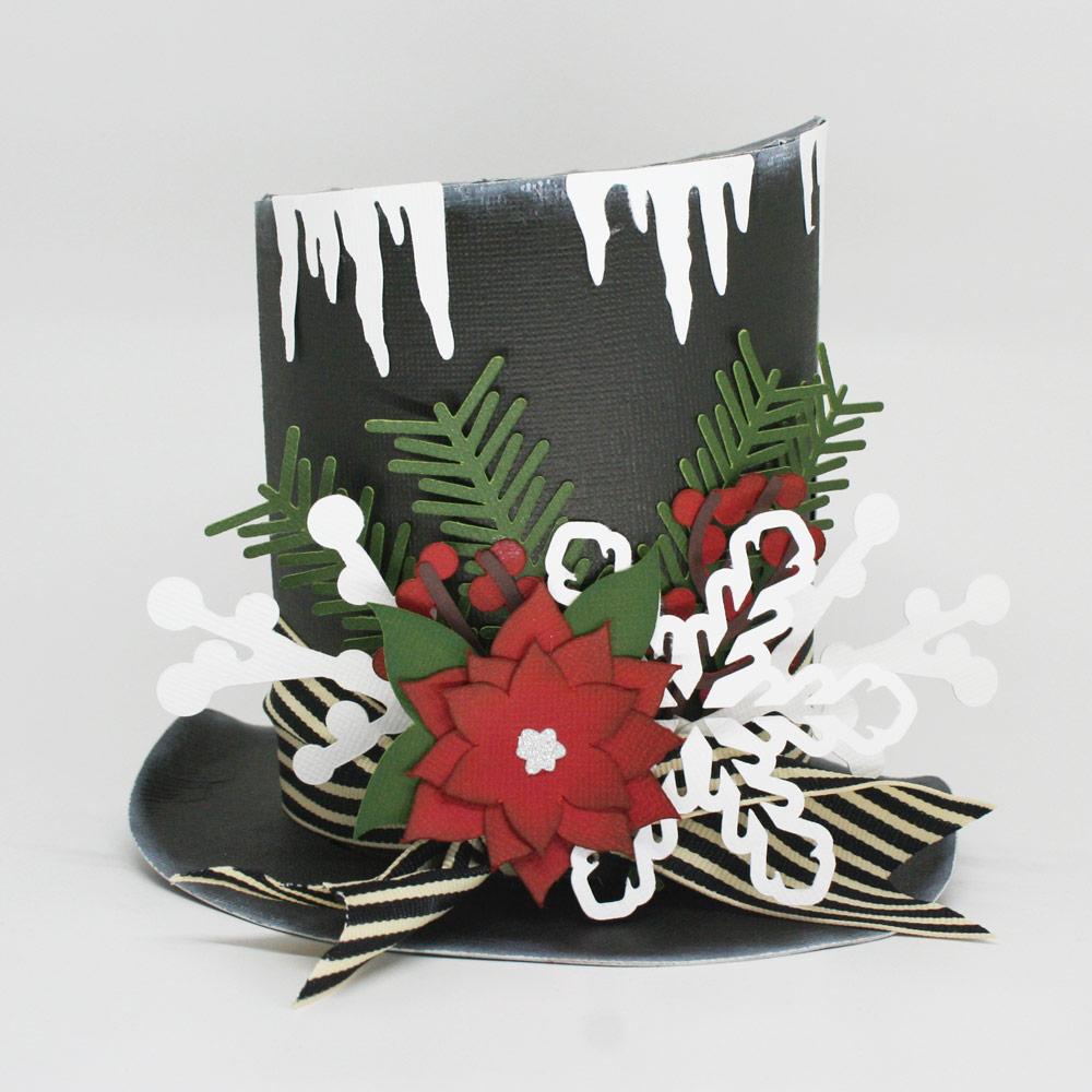 Paper Snowman Hat Decoration