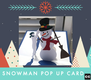 Making the Snowman Pop Up