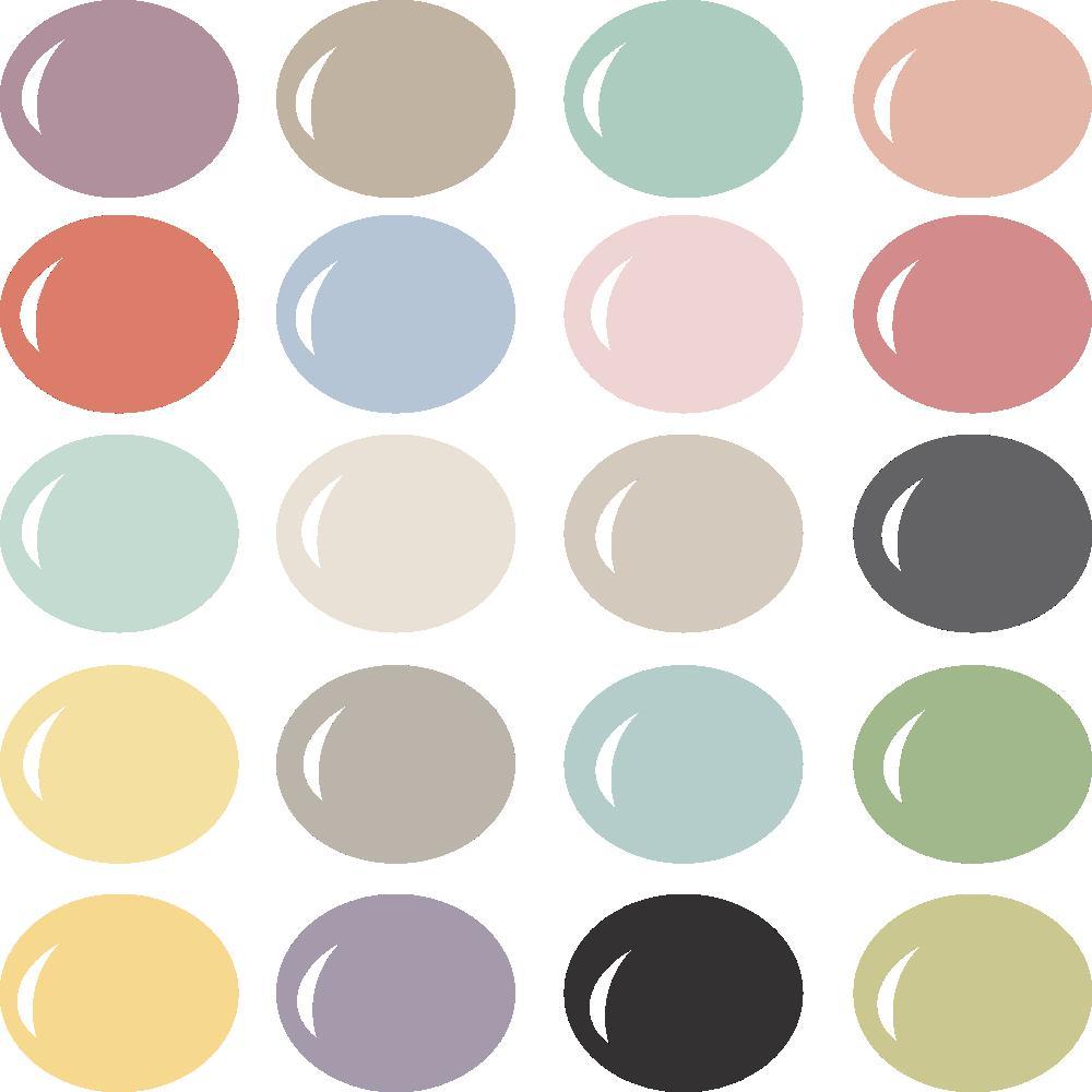 InVue Color Palette: Softer Side