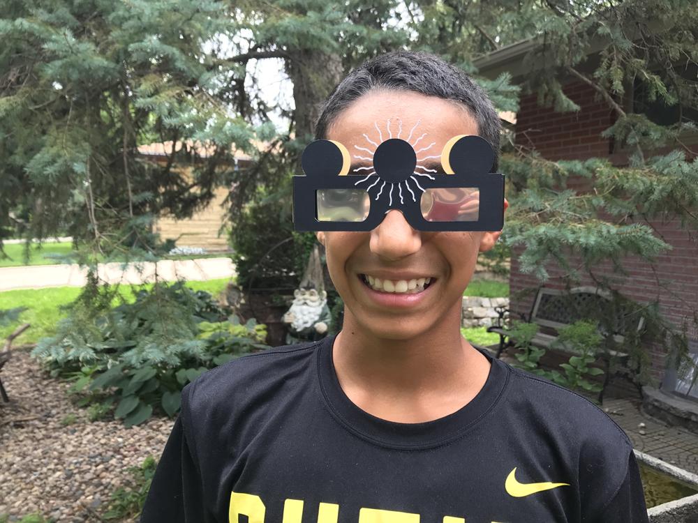 Solar Eclipse Glasses Cover
