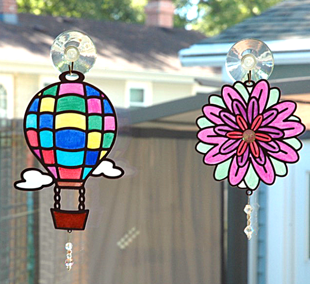 Stained Glass Hangers