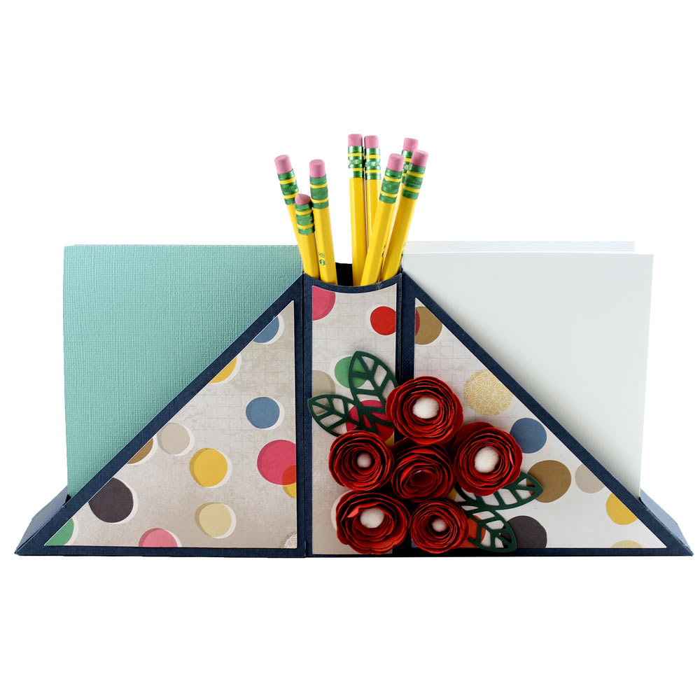 stationery desk organizer DIY