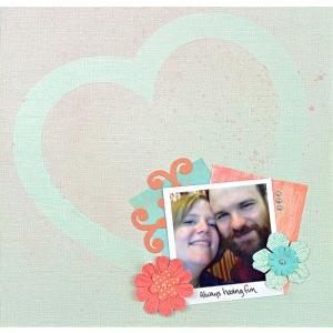 Heart Stencil Page