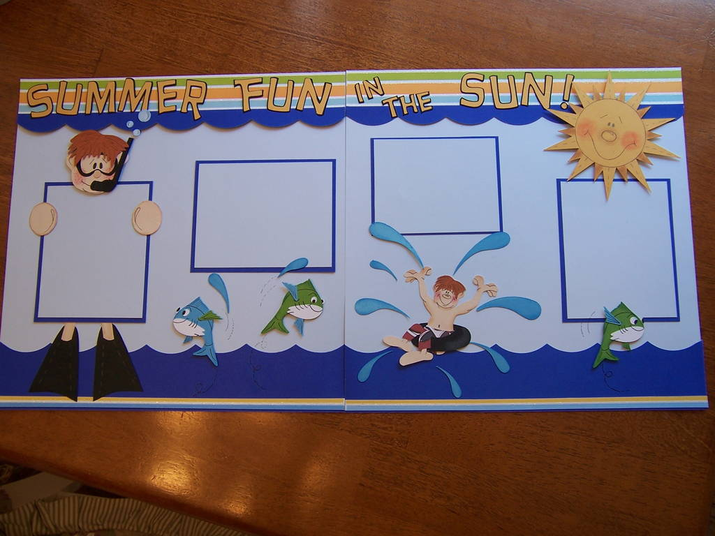 Pazzle Craft Room: Summer Fun In The Sun