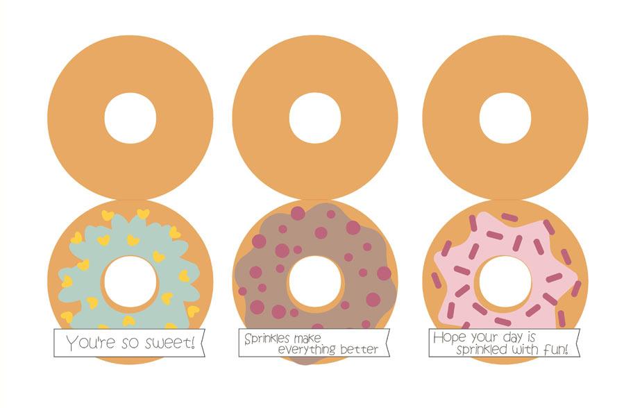 Donut Cards