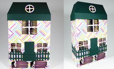 3D Tea Bag Cottage